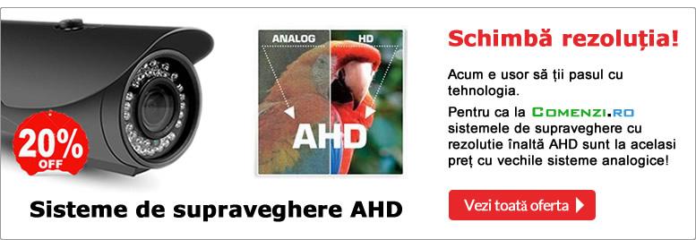 Sisteme supraveghere AHD