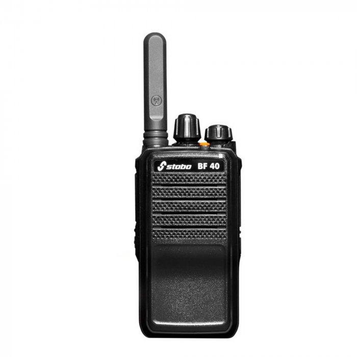 Statie radio UHF portabila Stabo BF-40 programabila 400-470 MHZ
