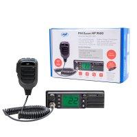 Statie radio CB PNI Escort HP 9500 multistandard, ASQ, VOX, Scan, 4W, AM-FM, alimentare 12V/24V, mufa de bricheta inclusa