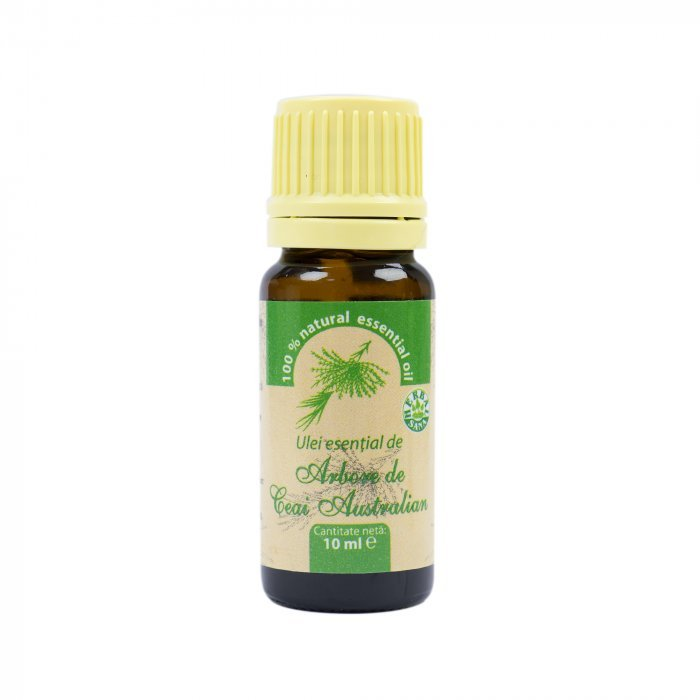 Ulei esential de Tea Tree (Arbore de Ceai), 100% pur fara adaos, 10 ml