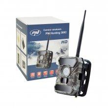 Camera vanatoare PNI Hunting 300C cu INTERNET 12MP Night Vision transmite foto pe email Full HD 1080P