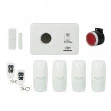 Kit Sistem de alarma wireless PNI SafeHouse PG300 comunicator GSM cu 4 senzori de miscare PNI A005
