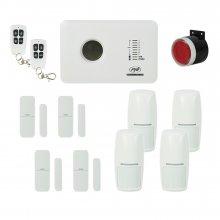 Kit sistem de alarma wireless PNI SafeHouse PG300 comunicator GSM si 6 senzori suplimentari