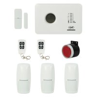 Sistem de alarma wireless PNI SafeHouse PG300 comunicator GSM 3 senzori de miscare si 1 contact magnetic