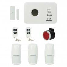 Sistem de alarma wireless PNI SafeHouse PG300 comunicator GSM 3 senzori de miscare si 1 contact magnetic