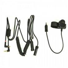 Cablu adaptor cu buton PTT Midland/Albrecht BHS300U cu 2 pini pentru casti moto Cod 41939/C797