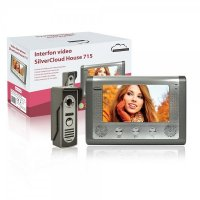 Interfon video cu 1 monitor model SilverCloud House 715 cu ecran LCD de 7 inch