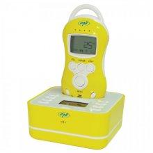 Audio Baby Monitor PNI B6000 wireless audio duplex