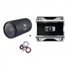 Pachet Subwoofer JBL 1214T + Amplificator JBL GTO752 + Kit Cabluri Bull Audio
