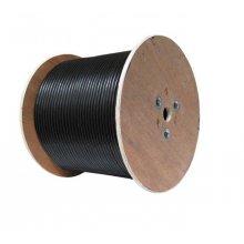 Cablu FTP de exterior autoportant cu sufa CAT6 de cupru ROLA 305 m