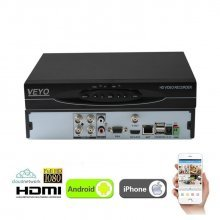 DVR NVR HIBRID 4 canale AHD 1080P, inregistrare 2 Mp/canal