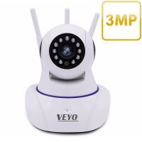 Camera supraveghere IP 3 MP wireless VEYO, P2P, PTZ, Onvif, slot card microSD