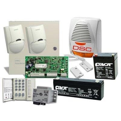 SISTEM ALARMA ANTIEFRACTIE DSC POWER PC 1616 EXT