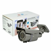 Camera IP PNI IP1MP varifocala 2.8 - 12 mm de exterior 720p