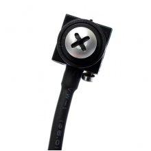 Camera supraveghere spion cu cap de surub 1,5x1,5 cm, sunet, AHD 1,3 Mp