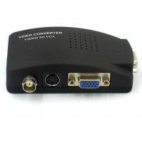 Convertor AV-VGA / BNC-VGA