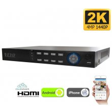 DVR NVR 32 CANALE AHD 4MP (2K) Veyo HVR8332H-C1