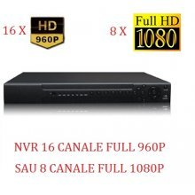 NVR 16 CANALE FULL 960P SAU 1,3 MP