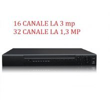 NVR 16 CANALE 3 MP SAU 32 CANALE 1,3 MP