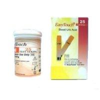 Teste acid uric EasyTouch 25