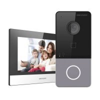 Kit de baza videointerfon IP Hikvision cu 1 post de interior