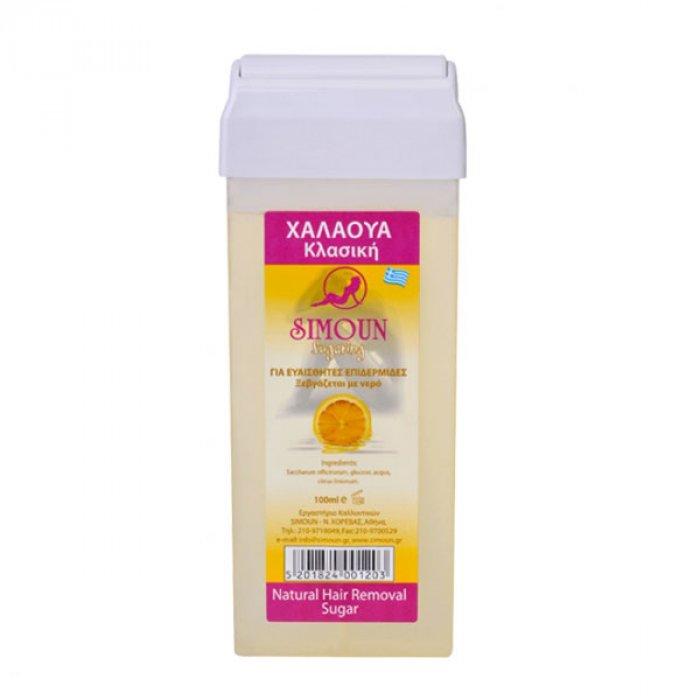 Simoun Roll-on ceara naturala de zahar pentru epilat 100g