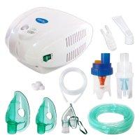 Aparat de aerosoli Sanity Alergia Stop PRO, 3 masti, nebulizator cu compresor