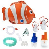 Aparat aerosoli RedLine Healthy Fish PRO, 3 masti, 2 pahare de nebulizare