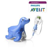 Aparat aerosoli Philips Respironics innospire Sami the Seal, nebulizator cu compresor