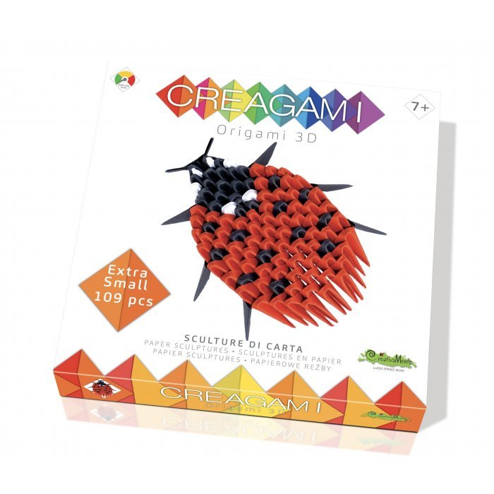 Creagami buburuza Origami 3D CreativaMente
