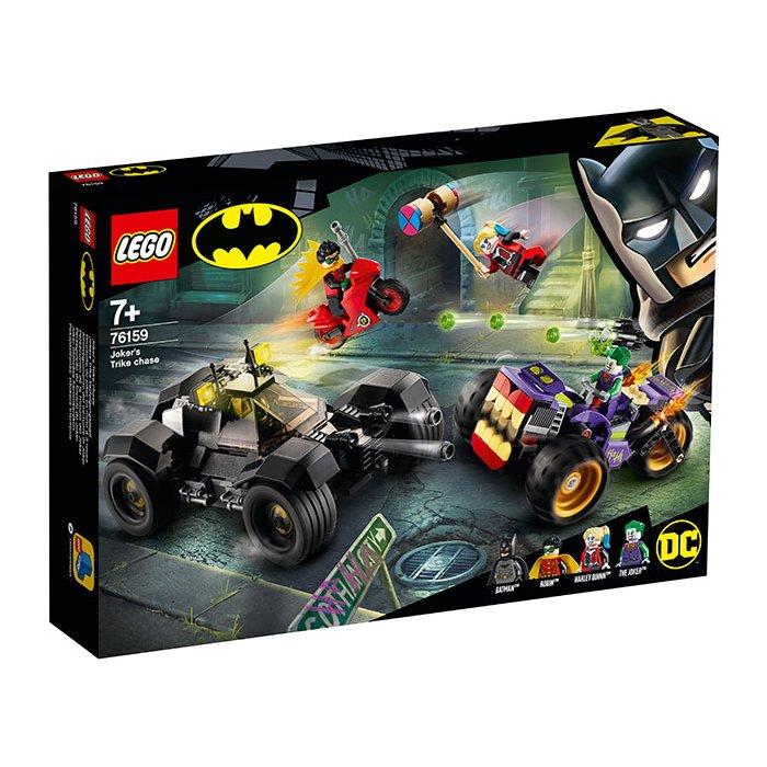 Urmarirea lui Joker Lego DC Super Heroes