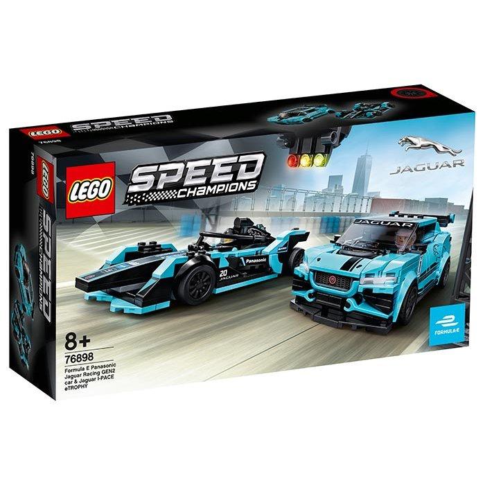 Jaguar Racing GEN2 & Jaguar I-PACE eTROPHY Lego Speed Champions
