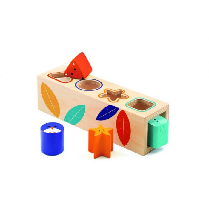 Cutia formelor Boita Basic Djeco