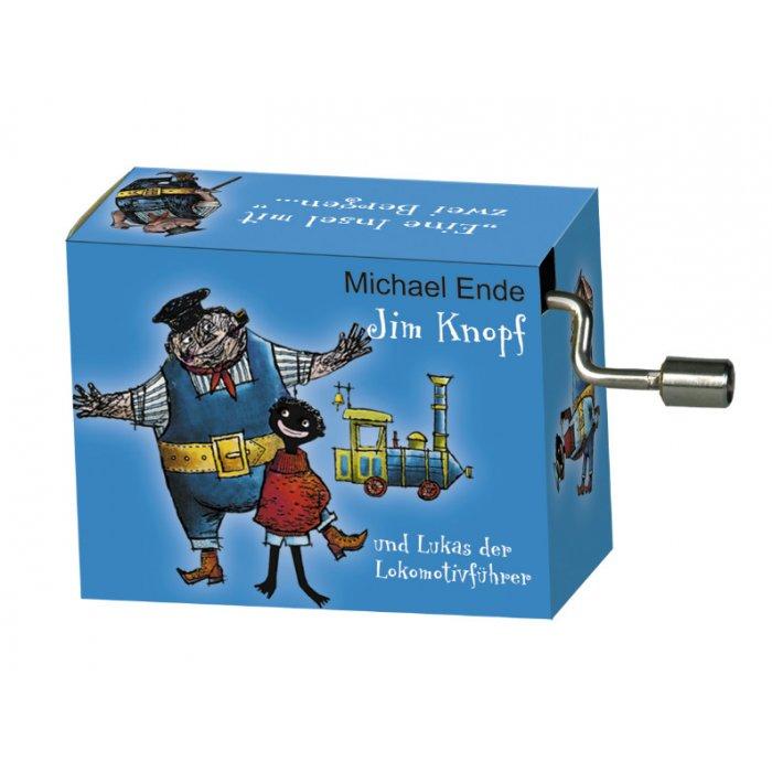 Flasneta Jim Knopf albastru Fridolin