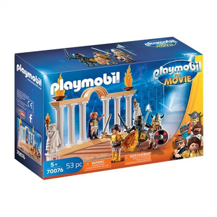 Imparatul Maximus in Colosseum Playmobil Movie