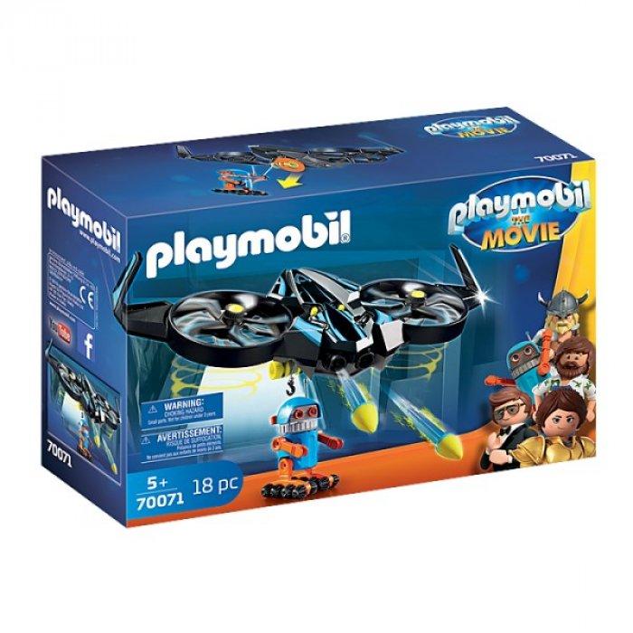 Robotitron cu drona Playmobil Movie
