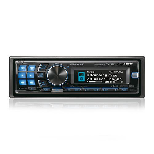 Alpine CDA-117Ri RADIO CD/USB/CONTROL i-Pod