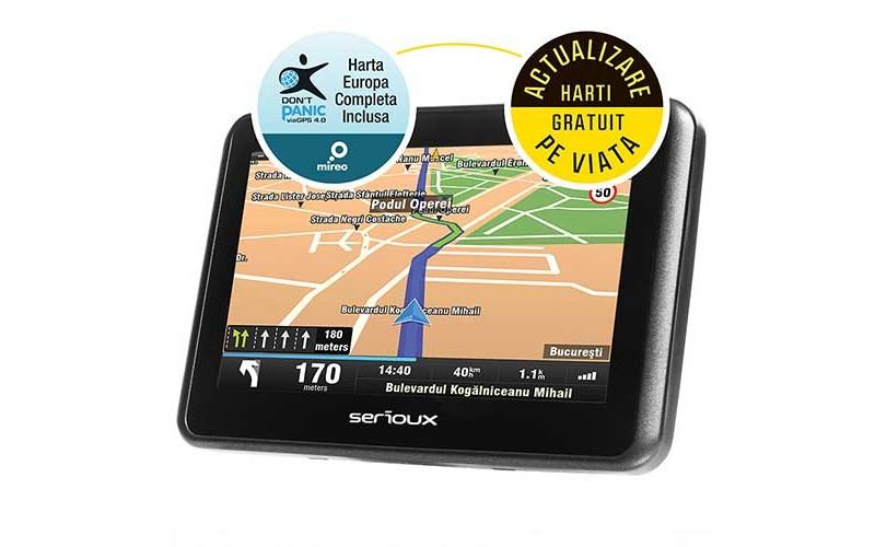 Sistem de navigatie GPS Serioux Urban Pilot UPQ430